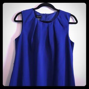 NWT Royal Blue Sleeveless Sheath Dress